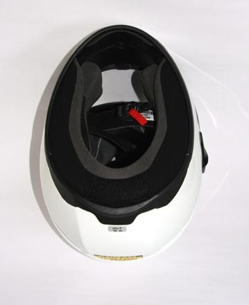 Casco completo vista interna