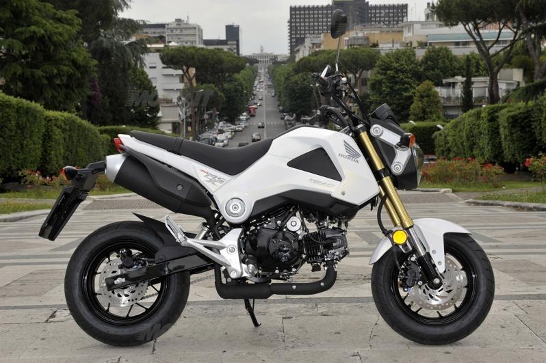 Prova Honda MSX 125 - Prove - - 233.0KB